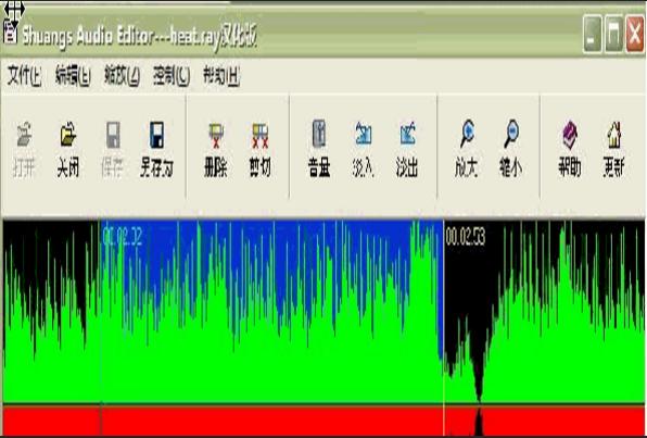 Shuangs Audio Editor音频剪辑工具下载v2.2汉化版