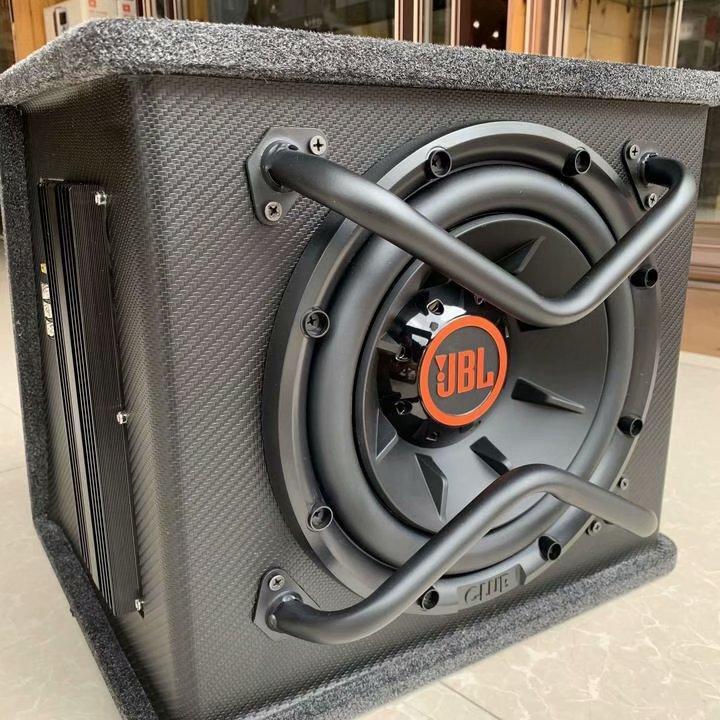 JBL 新款 CIUB 1024 汽车音响10寸有源重低音喇叭哈曼重低音炮车载