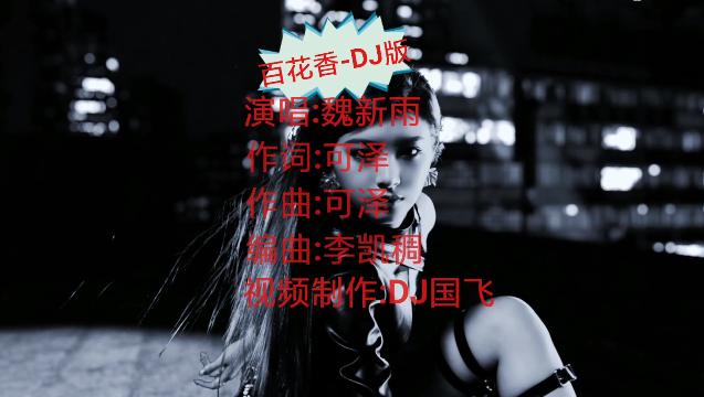 DJ國飛-百花香-DJ版-車載高清舞曲視頻