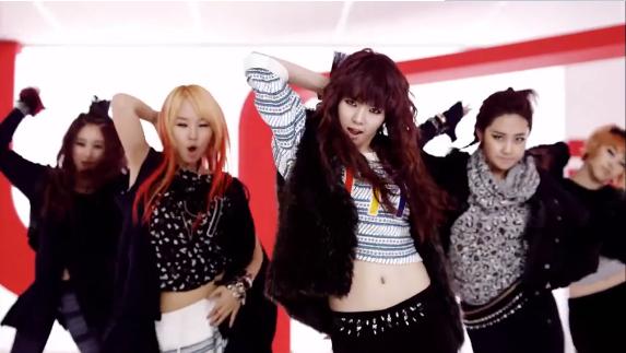 最新抖音神曲-活著DJ版-韓國女子天團熱舞炫酷MV